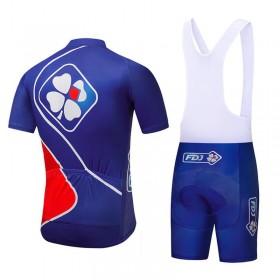 b74563f625326 Tenue Cyclisme FDJ Cuissard Velo,Maillot FDJ
