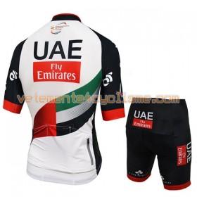 Tenue Cycliste et Cuissard Enfant 2017 UAE Team Emirates N001