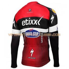 Maillot vélo 2016 Etixx-Quick Step Manches Longues N002