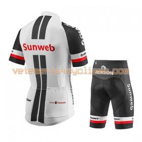 Tenue Cycliste et Cuissard Enfant 2017 Team Sunweb N001