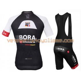 Tenue Cycliste et Cuissard à Bretelles 2016 Bora-Argon 18 N002
