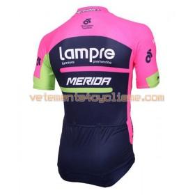 Maillot vélo 2016 Lampre-Merida N001