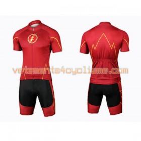 Tenue Cycliste et Cuissard à Bretelles 2017 Super Hero Brand N003