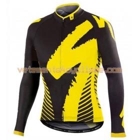 Tenue Cycliste Manches Longues et Collant à Bretelles 2016 Specialized N001