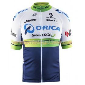 Tenue Cycliste et Cuissard à Bretelles 2016 Orica GreenEDGE N001