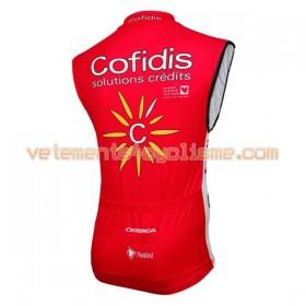 Gilet Cycliste 2016 Cofidis Pro Cycling N001