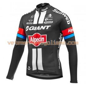 Tenue Cycliste Manches Longues et Collant à Bretelles 2016 Giant-Alpecin N001