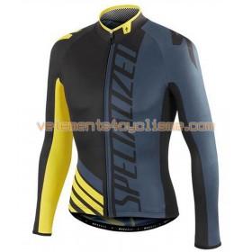 Tenue Cycliste Manches Longues et Collant à Bretelles 2016 Specialized N004