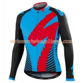 Tenue Cycliste Manches Longues et Collant à Bretelles 2016 Specialized N006