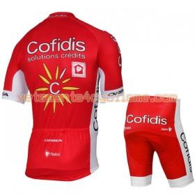 Tenue Cycliste et Cuissard Enfant 2017 Cofidis Pro Team N001