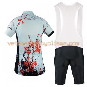 Tenue Cycliste et Cuissard à Bretelles Femme 2017 Aogda N007