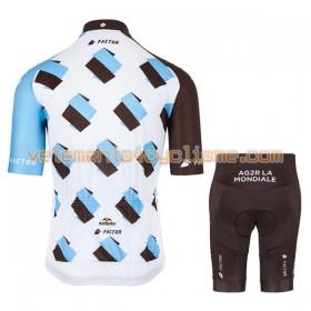 Tenue Cycliste et Cuissard Enfant 2017 AG2R La Mondiale N001