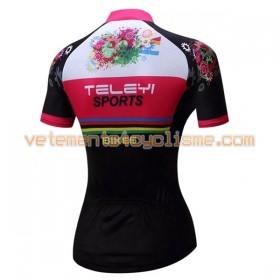 Maillot vélo Femme 2017 Teleyi N009