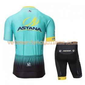 Tenue Cycliste et Cuissard Enfant 2017 Astana Pro Team N001