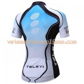 Maillot vélo Femme 2017 Teleyi N023