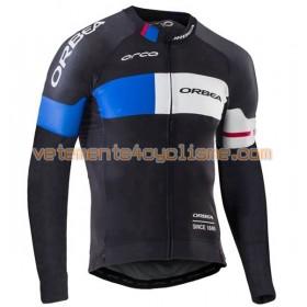Tenue Cycliste Manches Longues et Collant à Bretelles 2016 Orbea N001