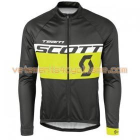 Tenue Cycliste Manches Longues et Collant à Bretelles 2016 Scott N002