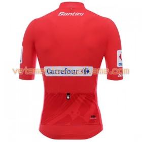 Maillot vélo Rouge 2017 La Vuelta