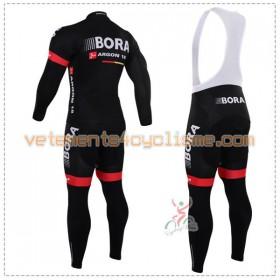 Tenue Cycliste Manches Longues et Collant à Bretelles 2016 Bora-Argon 18 N001