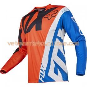 Maillots VTT/Motocross 2017 Fox Racing 360 Creo Manches Longues N002