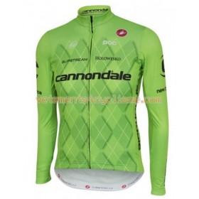 Tenue Cycliste Manches Longues et Collant à Bretelles 2016 Cannondale-Drapac N001