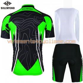 Tenue Cycliste et Cuissard à Bretelles 2017 Siilenyond N002
