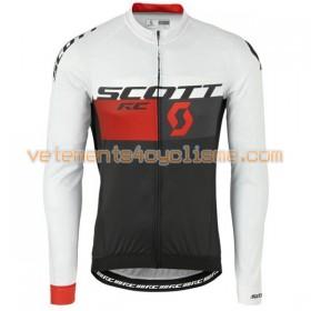 Tenue Cycliste Manches Longues et Collant à Bretelles 2016 Scott N009