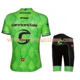 Tenue Cycliste et Cuissard à Bretelles Enfant 2016 Cannondale-Drapac N018