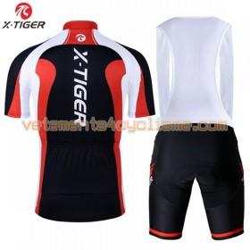 Tenue Cycliste et Cuissard à Bretelles 2017 X-Tiger N010