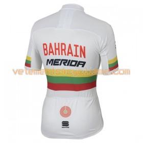 Maillot vélo 2017 Bahrain Merida Championnats de Lituanie