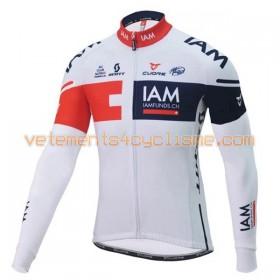 Tenue Cycliste Manches Longues et Collant à Bretelles 2016 IAM Cycling N001