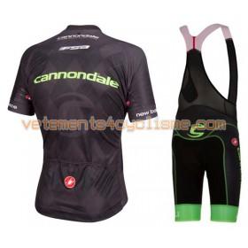 Tenue Cycliste et Cuissard à Bretelles 2016 Cannondale-Drapac N004