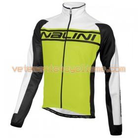 Tenue Cycliste Manches Longues et Collant à Bretelles 2016 Nalini N002