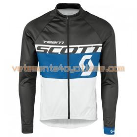 Tenue Cycliste Manches Longues et Collant à Bretelles 2016 Scott N010