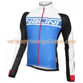 Tenue Cycliste Manches Longues et Collant à Bretelles 2016 Nalini N001