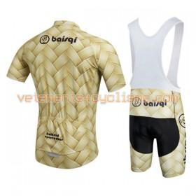 Tenue Cycliste et Cuissard à Bretelles 2016 Baishiqi Brand N012