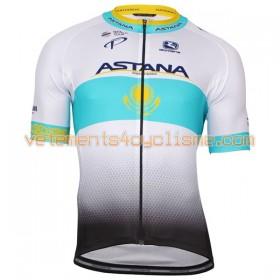 Tenue Cycliste et Cuissard à Bretelles 2017 Astana Pro Team N002