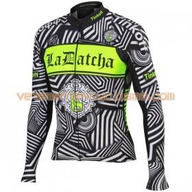 Tenue Cycliste Manches Longues et Collant à Bretelles 2016 Tinkoff N002