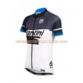Tenue Cycliste et Cuissard à Bretelles 2016 Santini N020