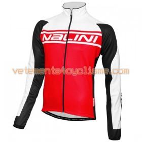 Tenue Cycliste Manches Longues et Collant à Bretelles 2016 Nalini N003