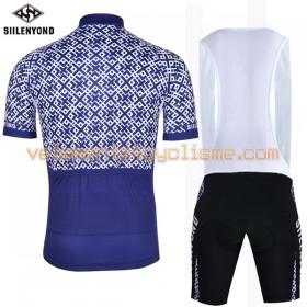 Tenue Cycliste et Cuissard à Bretelles 2017 Siilenyond N012