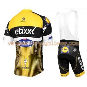 Tenue Cycliste et Cuissard à Bretelles 2016 Etixx-Quick Step N013