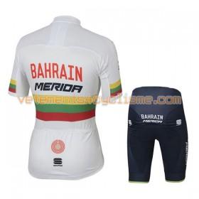 Tenue Cycliste et Cuissard Enfant 2017 Bahrain Merida Championnats de Lituanie