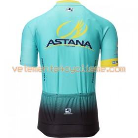Maillot vélo 2017 Astana Pro Team N001