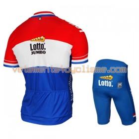 Tenue Cycliste et Cuissard Enfant 2017 LottoNL-Jumbo Championnats de Pays-Bas