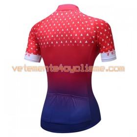 Maillot vélo Femme 2017 Teleyi N021