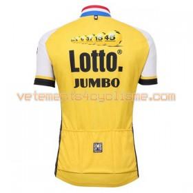 Maillot vélo 2016 LottoNL-Jumbo N001