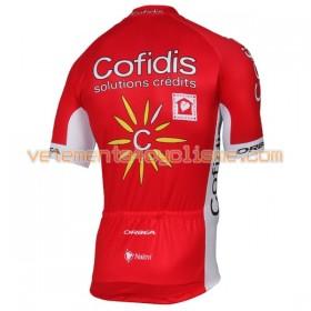 Maillot vélo 2017 Cofidis Pro Team N001