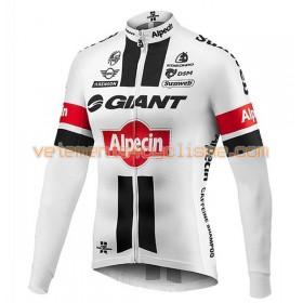 Tenue Cycliste Manches Longues et Collant à Bretelles 2016 Giant-Alpecin N002