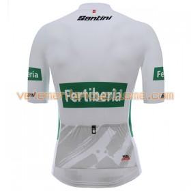 Maillot vélo Blanc 2017 La Vuelta